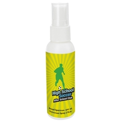 2 Oz. SPF 30 Sunscreen Spray Bottle 2 Oz. SPF 30 Sunscreen Spray Bottle, 2 Oz., SPF-30, Sunscreen, Spray, Bottle, Imprinted, Personalized, Promotional, with name on it, giveaway,