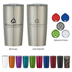 The Himalayan Vacuum Sealed Tumbler (18 oz) 18 Oz. Himalayan Tumbler, Vacuum Sealed Tumbler, Stainless, Steel, Tumbler, Travel, Vacuum Lock, Lid, Mug, Imprinted, Personalized, Promotional, with name on it, Gift Idea, Giveaway,