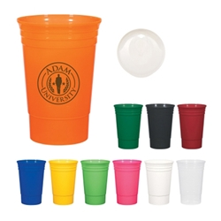 20 Oz. The Designer Cup 20 Oz. The Designer Cup, Designer, Cup, Polypropylene, Recyclable, Eco-Friendly, Stadium, Party, Celebration, Color, Event, Sporting Event, Company Picnic, Picnic, Imprinted, Personalized, Promotional, with name on it, Gift Idea, Giveaway,
