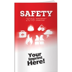 Custom Printed 2018 Safety Pocket Calendar | Care Promotions