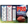 2019 Pro Football Schedule Wallet Size Schedule Promotional Football Items, Pocket Football Schedule, Football Giveaways, Fantasy Football Giveaways, Sports Betting Giveaways, Casino Giveaways