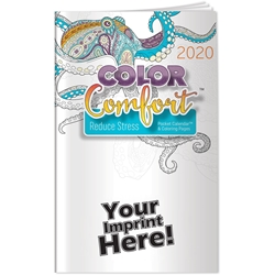 Reducing Stress Color Comfort Pocket Calendar | Care Promotions