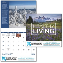 2021 Healthy Living Good Value Appointment Calendar Wall Calendar, Planner, Norwood, Business Calendar, Office Calendar, Business Gifts, Corporate Gifts, Sales and Marketing, Sales Meetings, Giveaways, Promotional Calendars, employee wellness, healthy living gifts