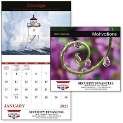 2021 Motivations Good Value Appointment Calendar Wall Calendar, Planner, Norwood, Business Calendar, Office Calendar, Business Gifts, Corporate Gifts, Sales and Marketing, Sales Meetings, Giveaways, Promotional Calendars