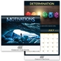 2021 Motivations Wall Calendar Wall Calendar, Planner, The Positive Line, Business Calendar, Office Calendar, Business Gifts, Corporate Gifts, Sales and Marketing, Sales Meetings, Giveaways, Promotional Calendars
