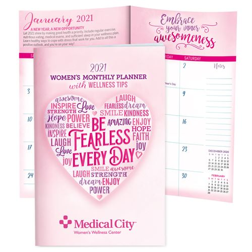 2021 Womens Monthly Planner With Wellness Tips Breast Cancer Awareness Calendar, Planner, The Positive Line, Wellness Planner, Womens Planner, Breast Care planner, 2016 Womens Planner, Womens Calendar, Small, Reference, Interactive, Learn, Learning, Womens Health Calendar, Well-Being, Living, Awareness, Giveaway,