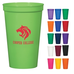 22 Oz. Stadium Cup 22 Oz. Stadium Cup, Stadium, Cup, Plastic, Reusable, Beverage, Sports, Imprinted, Personalized, Promotional, with name on it, Gift Idea, Giveaway,