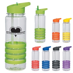 24 Oz. Banded Gripper Bottle With Straw 24 Oz. Banded Gripper Bottle With Straw, Banded, Gripper, Bottle, with, straw, Awareness, Sport, Water, Event, Walks, Run, Imprinted, Personalized, Promotional, with name on it, Gift Idea, Giveaway,