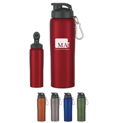24 Oz. Stainless Steel Bike Bottle 24 Oz. Stainless Steel Bike Bottle,  24 oz., Stainless Steel, Bike, Bottle, Waterbottle, Sports, Water Bottle, Bike Bottle, Imprinted, Personalized, Promotional, with name on it, Gift Idea, Giveaway,