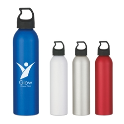 24 Oz. Us Aluminum Bottle 24 Oz. Us Aluminum Bottle, 24 oz., US, Aluminum, Bottle, Water, Color, Metal, USA made, Imprinted, Personalized, Promotional, Awareness, recognition, with name on it, Gift Idea, Giveaway,