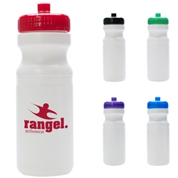 24 Oz. Water Bottle 24 Oz. Water Bottle, 24 oz., Water, Bottle, Waterbottle, Sports, Bike Bottle, Bike, Imprinted, Personalized, Promotional, with name on it, Gift Idea, Giveaway,