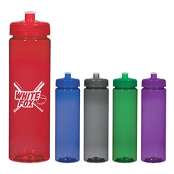 25 Oz. Freedom Bottle 25 Oz. Freedom Bottle, Freedom, bottle, water, Bottle, Water bottle, Sports, Tall, Slim, 25 oz.,Translucent, Imprinted, Personalized, Promotional, with name on it, Gift Idea, Giveaway,