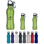 25 Oz. Stainless Steel Grip Bottle 25 Oz. Stainless Steel Grip Bottle, 25 oz, stainless, steel, grip, bottle, water, bottle, carabiner, with, waterbottle, water bottle, Imprinted, Personalized, Promotional, with name on it, Gift Idea, Giveaway,