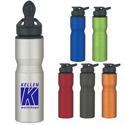 28 Oz. Aluminum Sports Bottle 28 Oz. Aluminum Sports Bottle, 28 oz., Aluminum, Bottle, Water, Sports, Water Bottle, Metal, Imprinted, Personalized, Promotional, with name on it, Gift Idea, Giveaway,