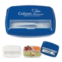 3-Section Lunch Container 3-Section Lunch Container, 3-Section, Lunch, Container, Imprinted, Personalized, Promotional, with name on it, giveaway,