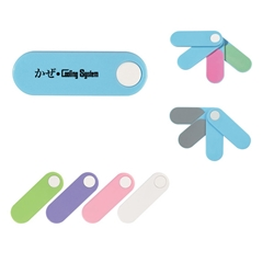 4 In 1 Mini Nail File 4 In 1 Mini Nail File, Nail, File, Sleeve, Awareness, Swivel, Fan, 4, files, Imprinted, Personalized, Promotional, with name on it, giveaway,