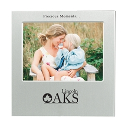 "4"" X 6"" Aluminum Photo Frame 4"" X 6"" Aluminum Photo Frame, Aluminum, Photo, Frame, 4"" x 6"", Imprinted, Personalized, Promotional, with name on it, giveaway, Desk,"