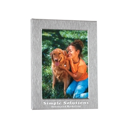"4"" X 6"" Photo Frame 4"" X 6"" Photo Frame, 4"" x 6"", Photo, Frame, Picture,  Imprinted, Personalized, Promotional, with name on it, giveaway,"