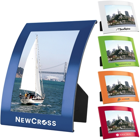 Custom Curve Photo Frame | Care Promotions