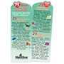 75 Ways To Make Your Heart Healthy Deluxe Die-Cut Bookmark Healthy Heart, Heart Tips, Bookmark, Women's Heart Health, Nutrition,