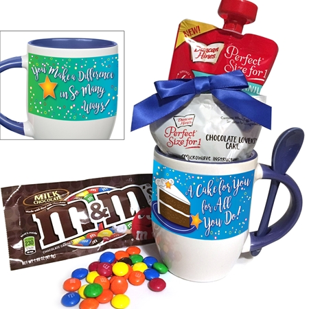 A Cake for You For All You Do! Cake Mug & Spoon Gift Set | Care Promotions
