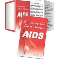 AIDS Key Points AIDS Key Points, Record, Keeper, Key, Points, Imprinted, Personalized, Promotional, with name on it, giveaway, guides, manual, record keeper, record planner, organizer, STD, AIDS, HIV, sex, disease