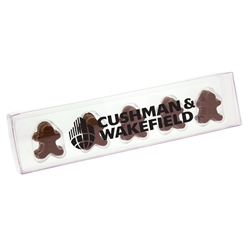 Acetate Stick with Gingerbread Men | Care Promotions