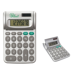 Adjustable Dual Power Calculator Adjustable Dual Power Calculator, Adjustable, Dual, Power, Calculator, Imprinted, Personalized, Promotional, with name on it, giveaway,