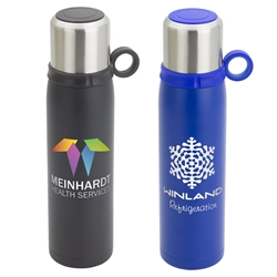All-Day 20 oz  Insulated Bottle with Temp Seal Technology promotional thermos, custom printed thermos, customized thermos, promotional drinkware, custom printed bottle, personalized stainless bottle