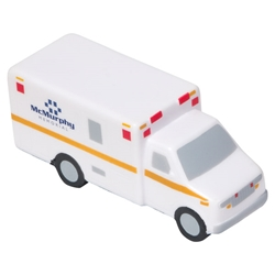 Ambulance Stress Reliever EMS promotional items, EMT promotional items, EMS week giveaways, emergency medical services giveaways, ambulance promotional products,