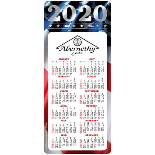 Americana 2020 E-Z 2 Stick Magnetic Calendar | Care Promotions