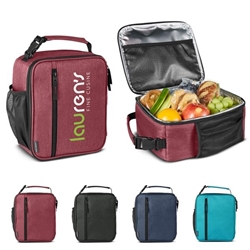 Austin Nylon Collection Lunch Bag Nylon Lunch Cooler, Lunch Bag, Lunch Cooler, imprinted Lunch Cooler, Imprinted lunch bag, tote bag, Under $10 Lunch Cooler, $10 Lunch bag, promotional lunch bag, employee appreciation gifts, business gifts, custom logo lunch cooler, corporate holiday gift