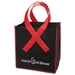 Awareness Ribbon Non Woven Grocery Shopper Tote - TOT212