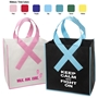 Custom Printed Awareness Ribbon Shopper Tote Bag | Promotional Awareness Giveaways | Care Promotional