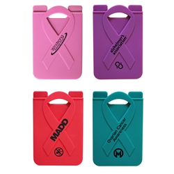 Awareness Ribbon Smart Phone Wallet | Custom Awareness Promotional Products | Care Promotions