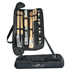 Barbecue Set barbeque, barbecue, set, gift, kit, imprinted, with logo, name on it, with, cooking, grilling,