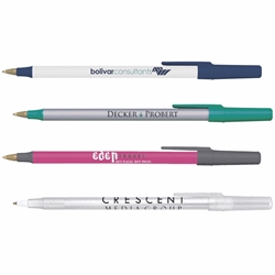 Custom BIC® Round Stic® Pen | Care Promotions