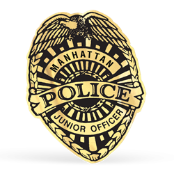 Police Badge Foil Stickers | Law Enforcement Promotional Items | Care Promotions