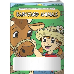 Barnyard Animals Coloring Book Barnyard Animals Coloring Book, BetterLifeLine, BetterLife, Education, Educational, information, Informational, Wellness, Guide, Brochure, Paper, Low-cost, Low-Price, Cheap, Instruction, Instructional, Booklet, Small, Reference, Interactive, Learn, Learning, Read, Reading, Health, Well-Being, Living, Awareness, ColoringBook, ActivityBook, Activity, Crayon, Maze, Word, Search, Scramble, Entertain, Educate, Activities, Schools, Lessons, Kid, Child, Children, Story, Storyline, Stories, Farm, Farmyard, Barn, Animals, Preschool, Grade School, Elementary,Imprinted, Personalized, Promotional, with name on it, Giveaway,