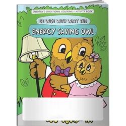 Be Wise with Watt the Energy Saving Owl Coloring Book Be Wise with Watt the Energy Saving Owl Coloring Book, BetterLifeLine, BetterLife, Education, Educational, information, Informational, Wellness, Guide, Brochure, Paper, Low-cost, Low-Price, Cheap, Instruction, Instructional, Booklet, Small, Reference, Interactive, Learn, Learning, Read, Reading, Health, Well-Being, Living, Awareness, ColoringBook, ActivityBook, Activity, Crayon, Maze, Word, Search, Scramble, Entertain, Educate, Activities, Schools, Lessons, Kid, Child, Children, Story, Storyline, Stories, Electric, Gas, Water, Sewer, TV, Conservation, Saving, Preschool, Grade School, Elementary, Imprinted, Personalized, Promotional, with name on it, Giveaway,