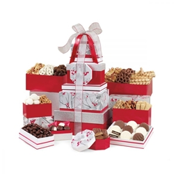 Best of the Season Gourmet Sweets & Treats Tower | Care Promotions