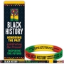Black History: Honoring The Past...Celebrating the Present...Inspiring The Future Bookmark Value Pack black history month promotional items, black history month bookmark, black history month giveaways, black history educational items, black hisotry month value giveaway,African American history promotions, educational bookmarks,