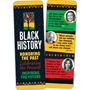 Black History: Honoring The Past...Celebrating the President...Inspiring The Future Bookmark (Pack of 50) black history month promotional items, black history month bookmark, black history month giveaways, black history educational items, African American history promotions, educational bookmarks,