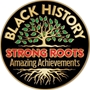 Black History: Strong Roots Amazing Achievements Lapel Pin black history month Lapel Pins, Pins, Martin Luther King Jr Pin, button, Black History Month Button, Black History Month decorations, Black History Month theme decorations, promotional items, black history month giveaways,