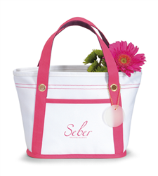 Bliss Mini Tote Trade Show Tote, Convention Bag, tote with Water Bottle Holder, Pocket, Basic, Low Price, Promotional, Imprinted, with name on it, logo, custom bag, gift bag, mini tote, fashion bag