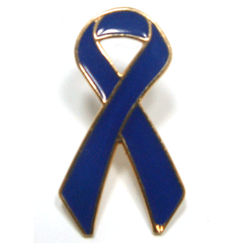 Blue Ribbon Lapel Pin | Child Abuse Prevention Month Giveaways | Care Promotions