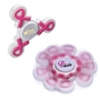 Pink Ribbon Breast Cancer Awareness Fidget Spinner | Care Promotions