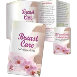 Breast Care: Breast Self Exam Guide Key Points (Spanish) Breast Care: Self-Exam Guide Key Points,Spanish, Pocket Pal, Record, Keeper, Key, Points, Imprinted, Personalized, Promotional, with name on it, giveaway,BetterLifeLine, BetterLife, Education, Educational, information, Informational, Wellness, Guide, Brochure, Paper, Low-cost, Low-Price, Cheap, Instruction, Instructional, Booklet, Small, Reference, Interactive, Learn, Learning, Read, Reading, Health, Well-Being, Living, Awareness, KeyPoint, Wallet, Credit card, Card, Mini, Foldable, Accordion, Compact, Pocket, Cancer, Women, Woman, Female, Fitness, Gynecology, OB/GYN, Breast, Cancer, Lump, CBE, BSE, Mammogram, Mammography, Nipple, MRI, Disease, BreastCancer, Oncology, Oncologist, Benign, Malign