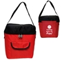 CARING Makes Me HAPPY! Lunch Bag  lunch cooler bag, lunch bag, cooler bag, promotional lunch bag, promotional products, employee appreciation, employee recognition, smiley face