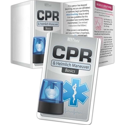 CPR and Heimlich Maneuver Basics Key Points CPR and Heimlich Maneuver Basics Key Points, Pocket Pal, Record, Keeper, Key, Points, Imprinted, Personalized, Promotional, with name on it, giveaway, BetterLifeLine, BetterLife, Education, Educational, information, Informational, Wellness, Guide, Brochure, Paper, Low-cost, Low-Price, Cheap, Instruction, Instructional, Booklet, Small, Reference, Interactive, Learn, Learning, Read, Reading, Health, Well-Being, Living, Awareness, KeyPoint, Wallet, Credit card, Card, Mini, Foldable, Accordion, Compact, Pocket, Safe, Safety, Protect, Protection, Hurt, Accident, Violence, Injury, Danger, Hazard, Emergency, First Aid